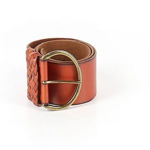 Accessories - 🌵2/$30 Brown Leather Belt Braided BoHo Festival S